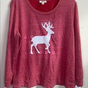 Style and Co Reindeer Sweatshirt